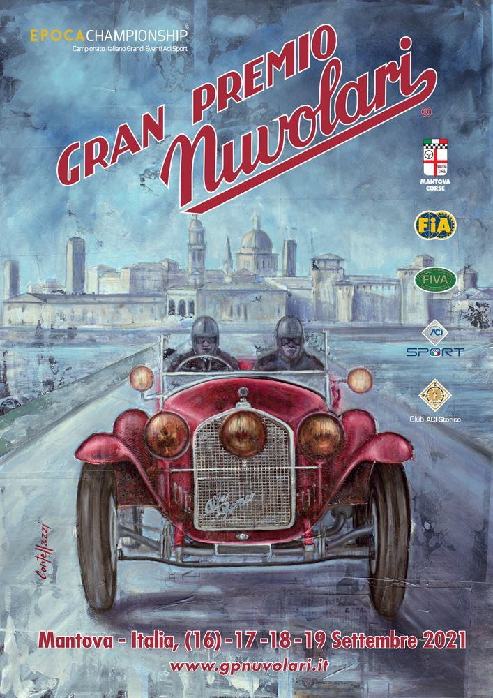 locandina Gran Premio Nuvolari 2021